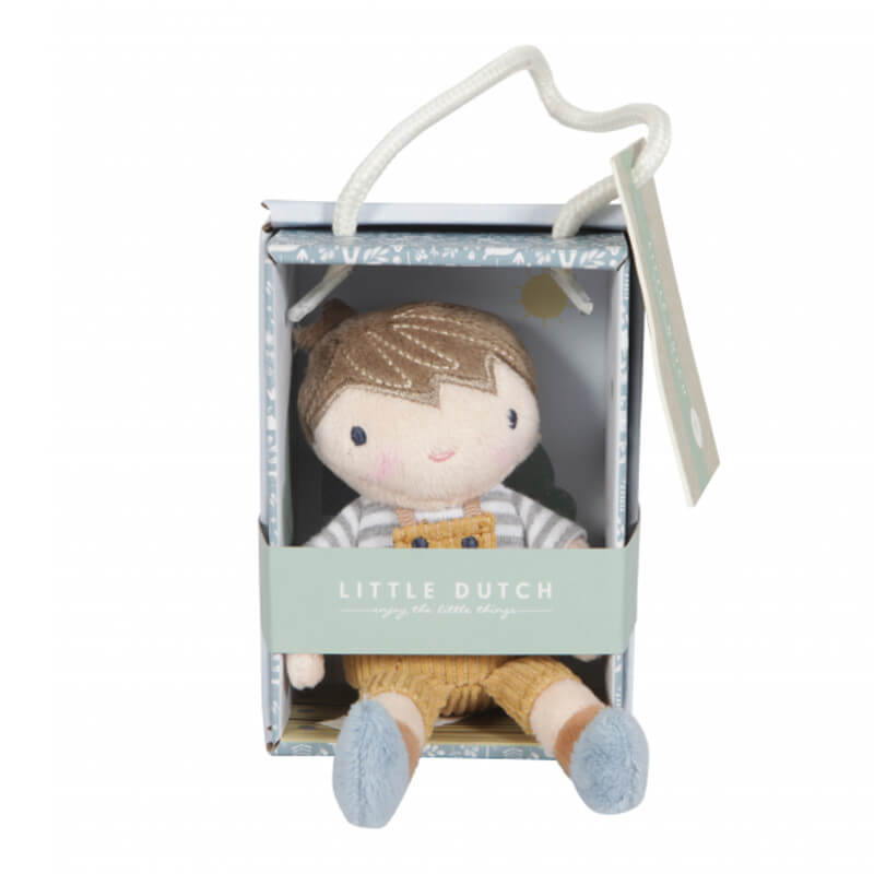 babika v krabicke Little Dutch chlapec